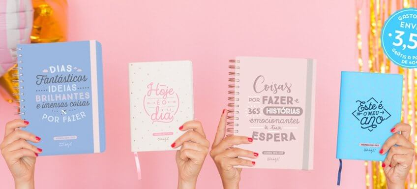 Agenda para 2017 mr wonderful com desconto em stock - Mr wonderful agenda 2017 ...