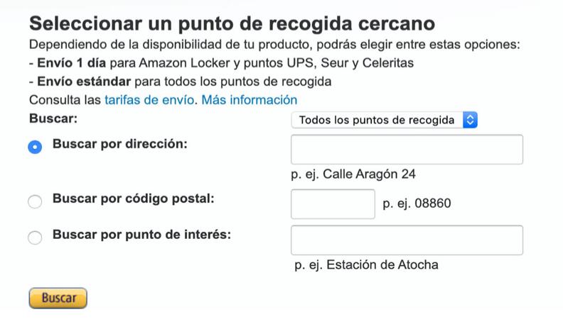 truque para comprar amazon espanha