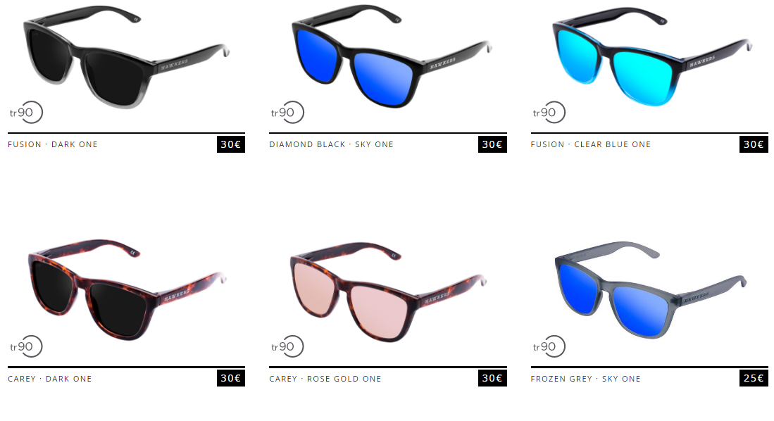 hawkers oculos verao promoção
