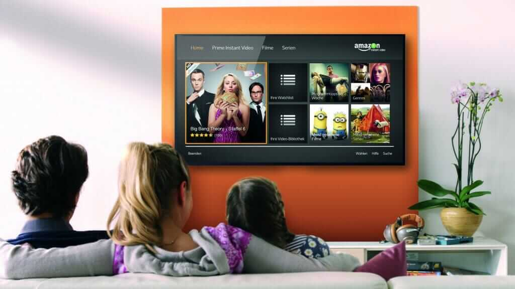 amazon prime video na tv